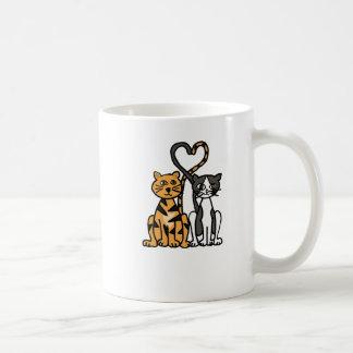 XX amor impresionante del gato del gatito Taza Clásica
