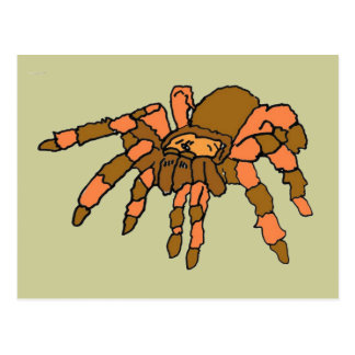 XX araña hilarante del Tarantula Postal