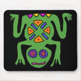 XX arte de la rana Alfombrillas De Ratones
