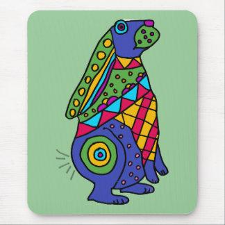 XX arte del conejo de Buny Tapetes De Ratones