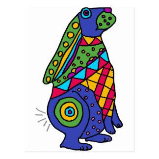 XX arte del conejo de Buny Tarjetas Postales