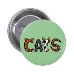 XX- Artistic CATS Design Buttons