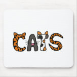 XX- Artistic CATS Design Mouse Pads