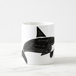 XX- Artistic Killer Whale Coffee Mug