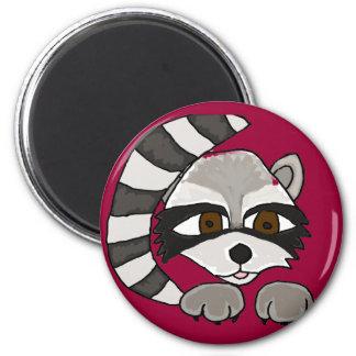 XX- Artistic Raccoon Refrigerator Magnet