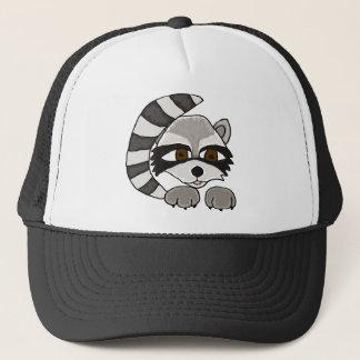 XX- Artistic Raccoon Trucker Hat