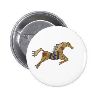 XX- Artisting Leaping Horse Pins