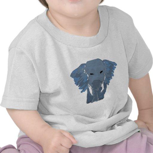 XX- Artsy Elephant Tee Shirts