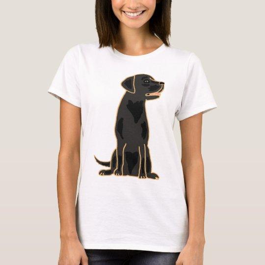 XX- Awesome Black Labrador Retriever Design T-Shirt