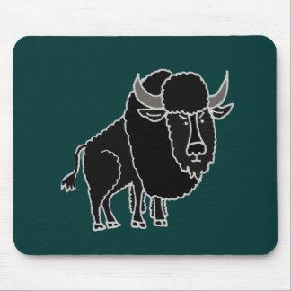 XX- Awesome Buffalo Cartoon Mouse Pad