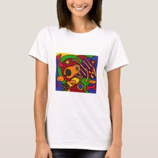 XX- Awesome Dog Cubist Art T-Shirt