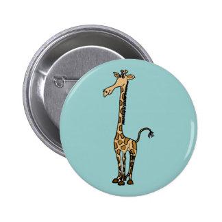 XX- Awesome Giraffe Pinback Button