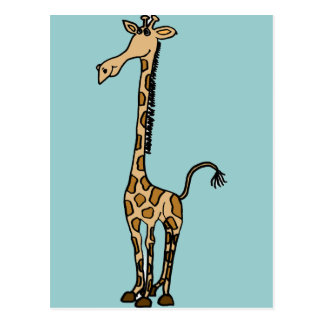 XX- Awesome Giraffe Postcard