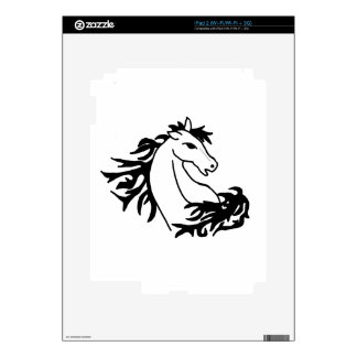 XX- Awesome Horse Art  Design Skin For iPad 2