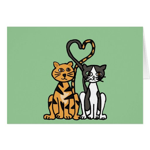 XX- Awesome Kitty Cat Love Card