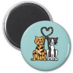 XX- Awesome Kitty Cat Love Fridge Magnet