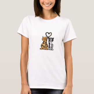 XX- Awesome Kitty Cat Love T-Shirt