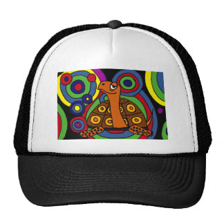 XX- Awesome Turtle Abstract Art Trucker Hat