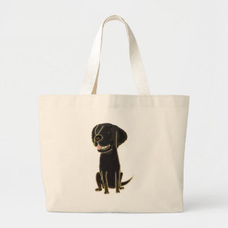 XX- Black Retriever Puppy Dog Bags