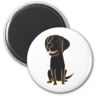 XX- Black Retriever Puppy Dog Magnet