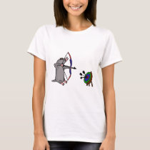 XX- Blind Mole in Archery Competition T-Shirt