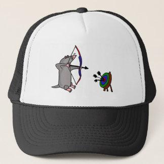 XX- Blind Mole in Archery Competition Trucker Hat