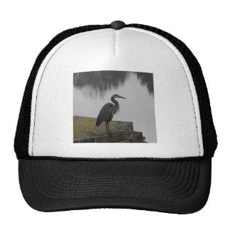 XX- Blue Heron by the Lake Trucker Hat