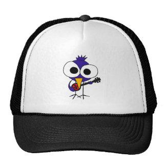 XX- Bluebird Playing Banjo Cartoon Trucker Hat