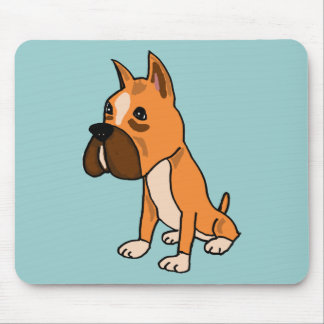 XX- Boxer Puppy Dog Mouse Pad