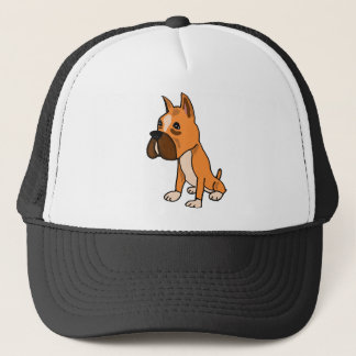 XX- Boxer Puppy Dog Trucker Hat