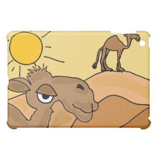 XX- Camel in the Desert Folk Art iPad Mini Case