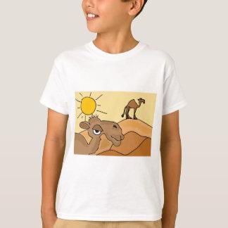 XX- Camel in the Desert Folk Art T-Shirt