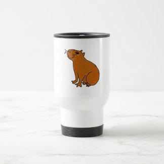 XX- Capybara Art Travel Mug