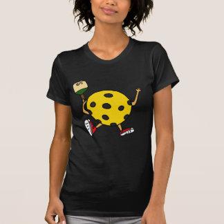 XX carácter divertido de Pickleball Camisetas