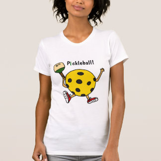 XX carácter divertido de Pickleball Camiseta