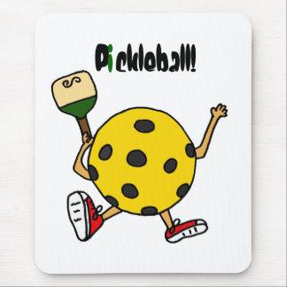 XX carácter divertido de Pickleball Alfombrilla De Ratón