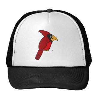 XX cardenal rojo enrrollado Gorro De Camionero