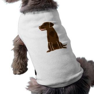 XX- Chocolate Labrador Retriever Puppy Dog Dog T-shirt