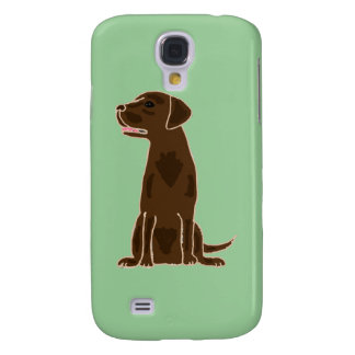 XX- Chocolate Labrador Retriever Puppy Dog Galaxy S4 Case