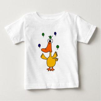 XX- CLUTZ Duck Juggling Design Infant T-shirt