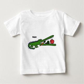 XX cocodrilo del vegano Playera