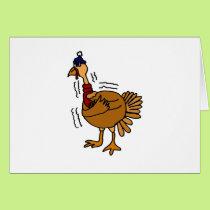 XX- Cold Turkey Cartoon Card