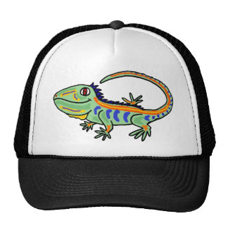 XX- Colorful Iguana Trucker Hat