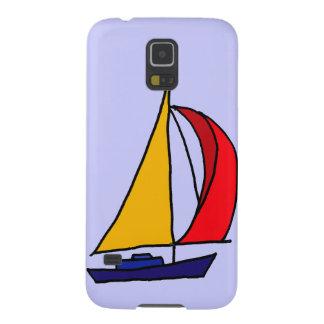 XX- Colorful Sailboat Art Galaxy S5 Case