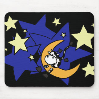 XX- Cow Jumping Over Moon Mouse Pad