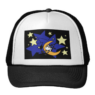XX- Cow Jumping Over Moon Trucker Hat
