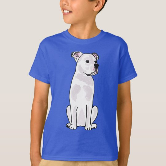 XX- Cute American Bulldog with Studded Collar T-Shirt