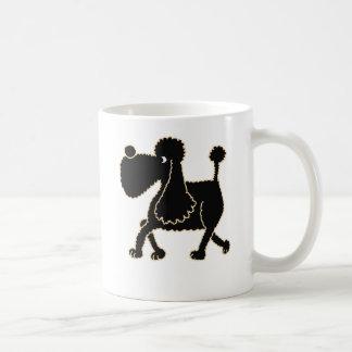 XX- Cute Black Poodle Design Coffee Mug