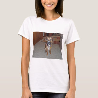 XX- Cute Boxer Mix Puppy Dog T-Shirt
