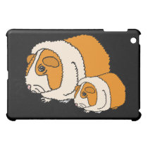 XX- Cute Guinea Pig Cartoon iPad Mini Case